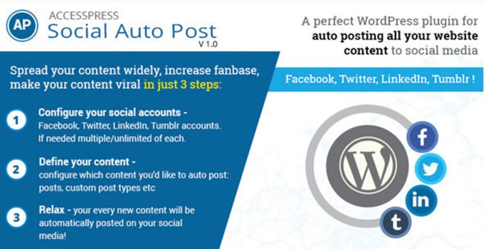 AccessPress Social AutoPost WordPress Plugin