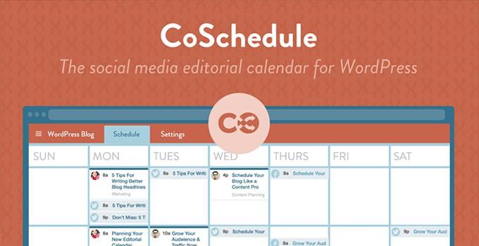 CoSchedule WordPress Editorial Calendar