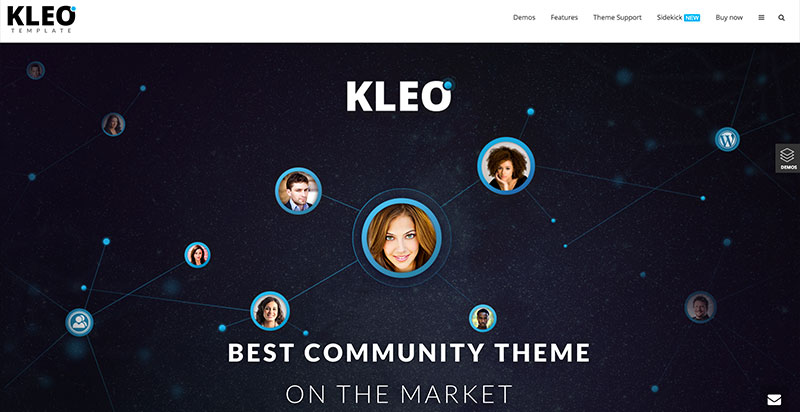 Kleo WordPress BuddyPress Theme