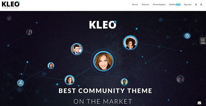 Kleo WordPress BuddyPress Theme