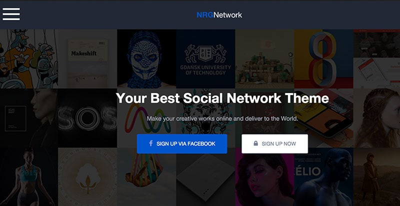 NRD Netword BuddyPress Theme