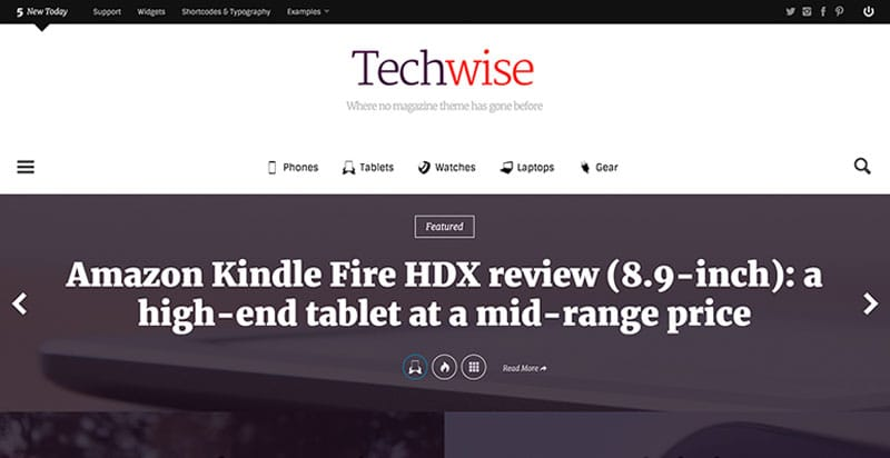 TechWise WordPress BuddyPress Theme