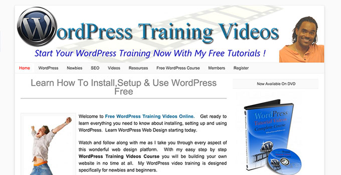 WordPress Training Videos