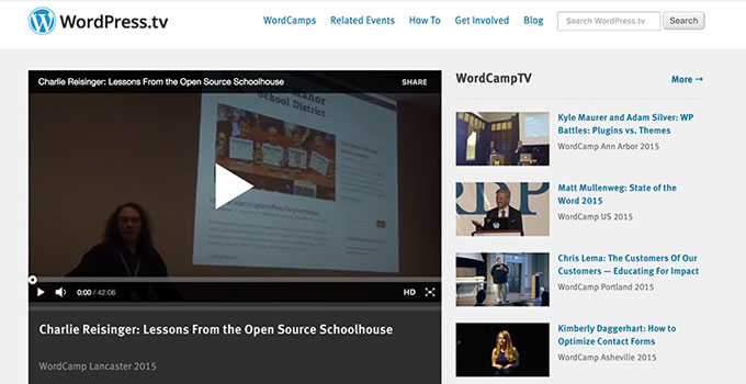 WordPress TV