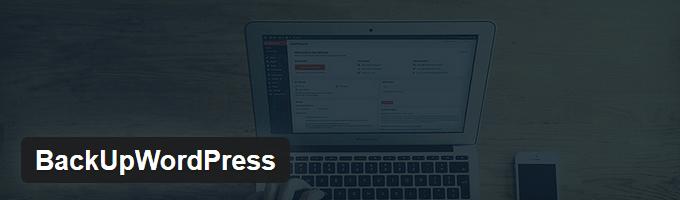 BackUpWordPress Backup Plugin