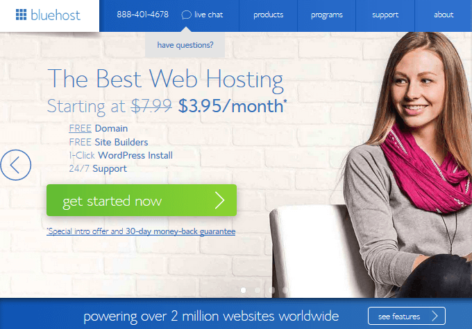 Bluehost - WordPress Hosting
