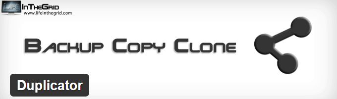Duplicator WordPress Backup Plugin