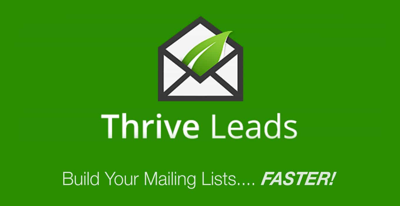 thrive leads popups plugin