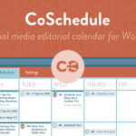 CoSchedule Editorial Calendar: Plan, Publish, and Promote Content Straight From WordPress