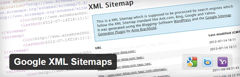 Google XML Sitemaps WordPress Plugin