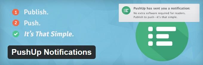 PushUp Notifications WordPress Plugin