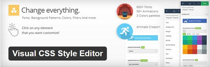 Visual CSS Style Editor WordPress Plugin