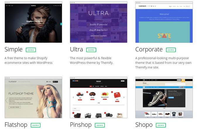 Choosing a WooCommerce Theme