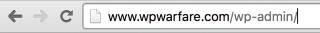 Default WordPress Login URL