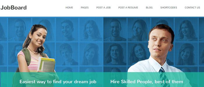 JobBoard - Responsive Job & Resume Market WordPress Theme