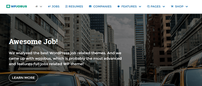 WPJobus - Job Board and Resumes WordPress Theme