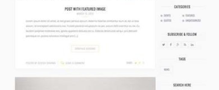 Grateful, Blogging Theme, WordPress Theme