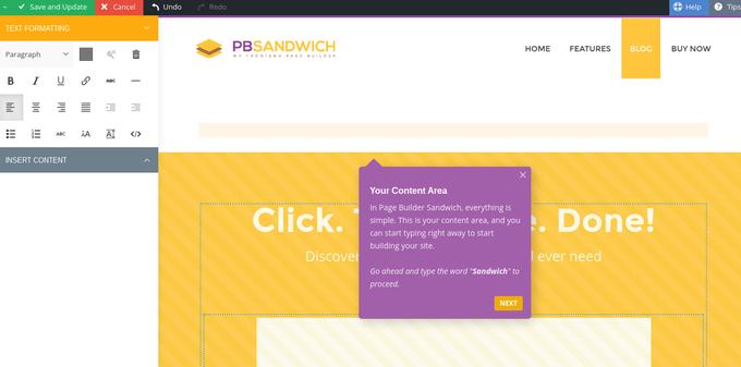 Page Builder Sandwich - Drag & Drop Website Builder for WordPress