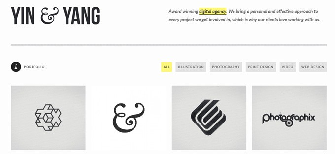 Yin Yang WordPress Theme