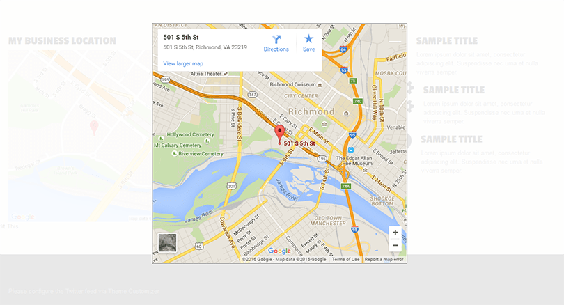 Google Maps for WordPress