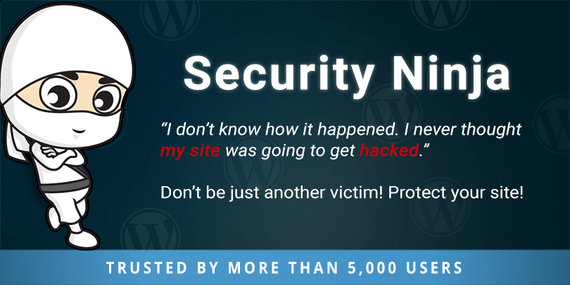 Security Ninja plugin