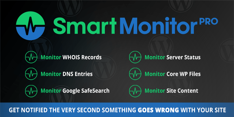 SmartMonitor - WordPress Notifications On Your Smartphone
