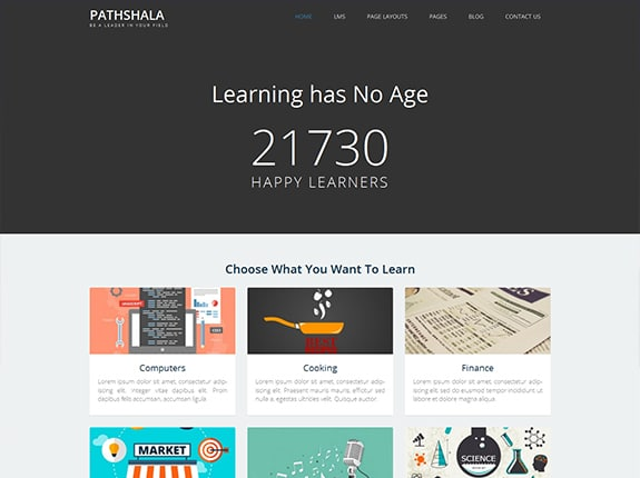 Pathshala WordPress Theme