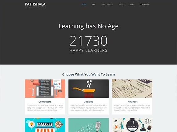 Pathshala WordPress Theme