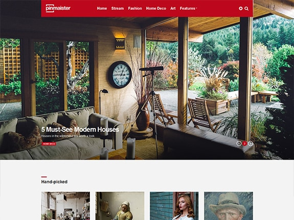 Pinmaister WP Theme