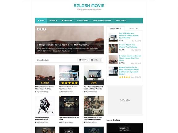 Splash - SEO Optimised WordPress Theme