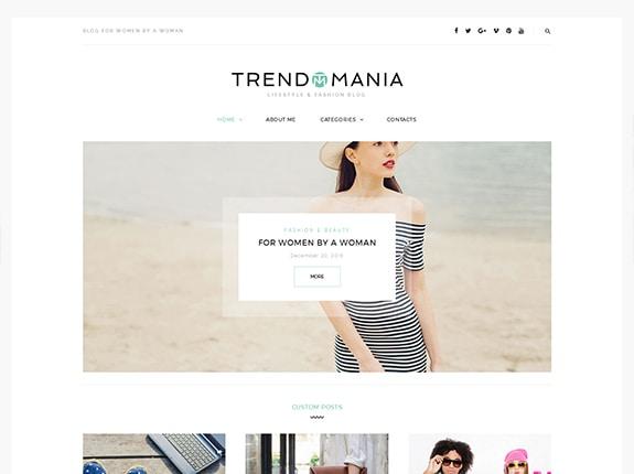 Trendomania WordPress Theme