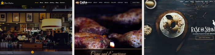 Divi Child Themes for Restaurants