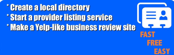 Free Business Directory Plugin