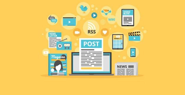Relaunch social media