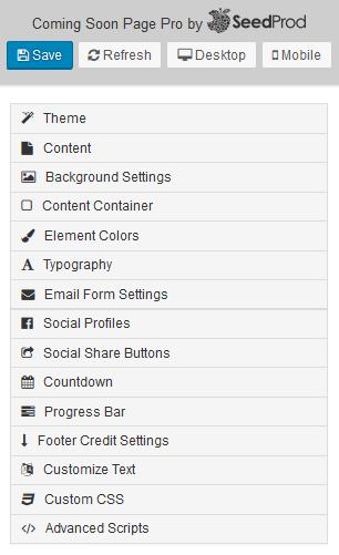 SeedProd - WordPress Coming Soon Plugin - Themes, Customizations