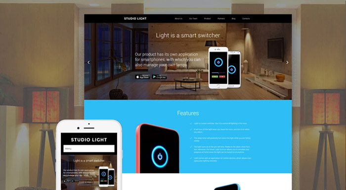 Studio Light WordPress Theme