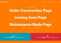 Under Construction Page Plugin
