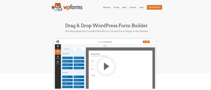 WPForms Contact Form Plugin
