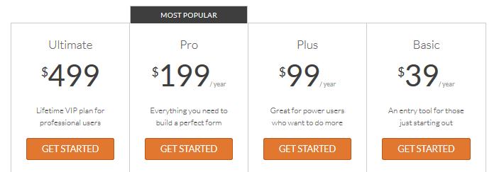 WPForms - Pricing
