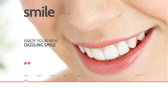 Celebrity Smile Responsive WordPress Theme