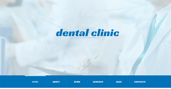 Healthy Teeth Responsive WordPress Theme