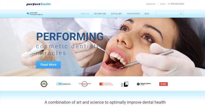 Perfect Smile Responsive WordPress Theme
