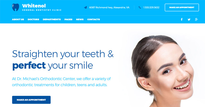 Teeth Care Responsive WordPress Theme