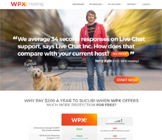 WPX Hosting website
