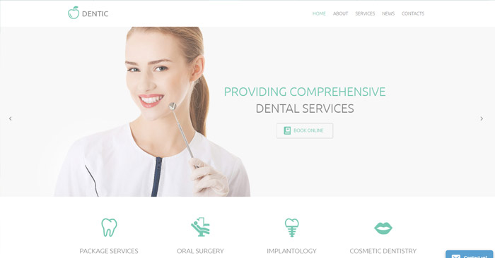 White Smile WordPress Theme