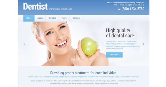 Your Dental Health Responsive WordPress Theme
