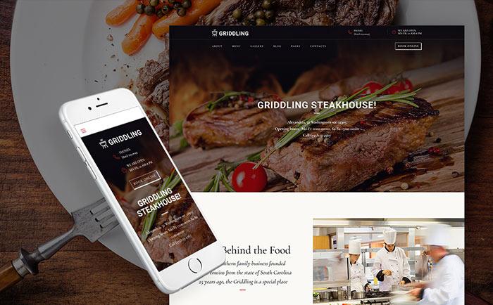 Barbecue Restaurant Responsive WordPress Theme