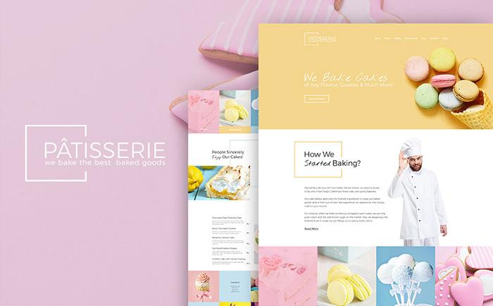 Cake Shop Responsive WordPress Template
