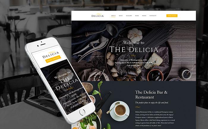 European Cuisine Restaurant WordPress Theme
