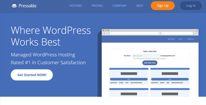 Pressable WordPress Hosting